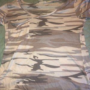 A camo shirt